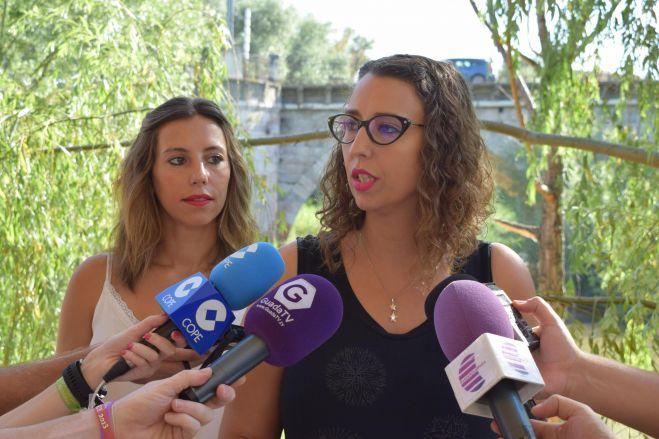 """Sara Simón: """"La rehabilitación del Puente Árabe es otro compromiso que Page cumple con Guadalajara"""""""