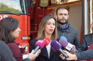 Los bomberos de la capital no tienen ningún camión bomba fiable para apagar un incendio